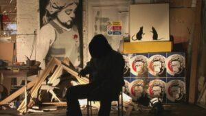 История уличного художника BANKSY. Блог Artbox Hotel