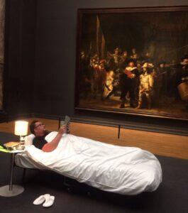 Ночь перед Рембрандтом.Блог Artbox Hotel
