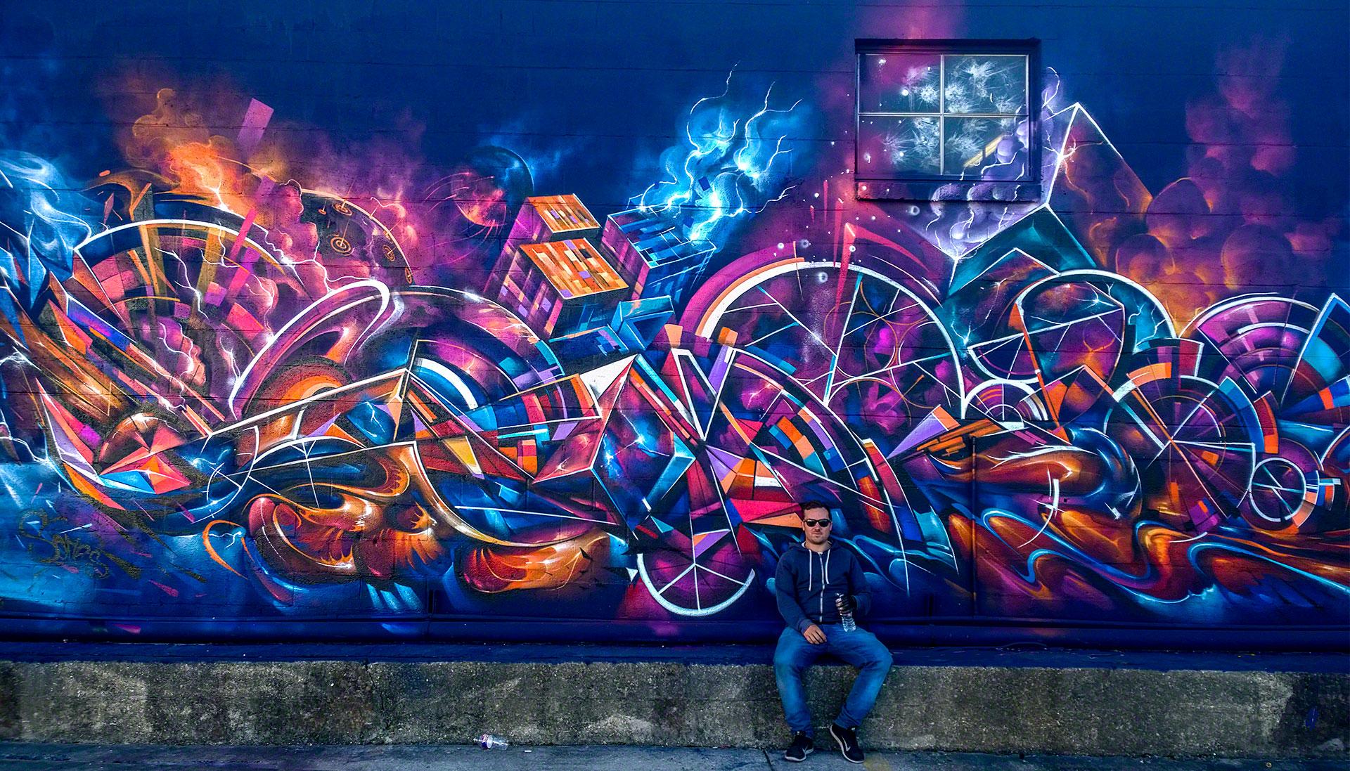 Большие картинки на рабочий стол граффити